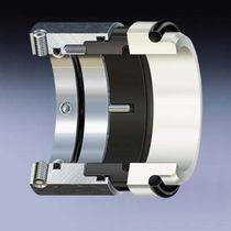 Spring mechanical seal / for shafts