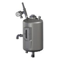 Metal tank / pressure / vertical