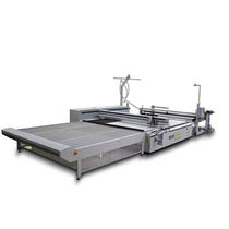 Textile cutting machine / CO2 laser / CNC / large-format