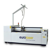 Wood cutting machine / textile / CO2 laser / CNC