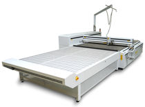 Textile cutting machine / CO2 laser / CNC / large-format