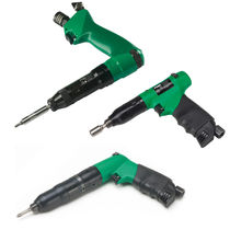 Pistol model air screwdriver / with shut-off clutch