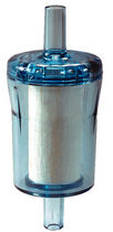 Disposable filter / liquid / cartridge / in-line