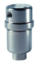 Cartridge filter housing / for gas / for air / stainless steel