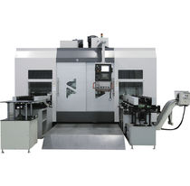 CNC turning center / 4-axis / drilling / tapping