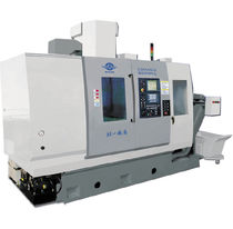 CNC turning center / vertical / 3-axis