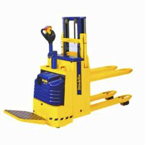 Electric pallet truck / with rider platform / multifunction