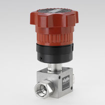 Needle valve / flow-control / manual / for liquids