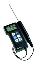 Probe thermometer / digital / portable / waterproof