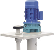 Chemical pump / electric / centrifugal / semi-submersible