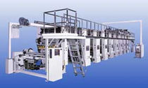 Rotogravure printing press / for labels