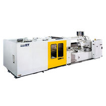 Horizontal injection molding machine / hydraulic / fast-cycling