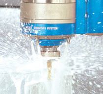 Cutting motor spindle / AC / high-speed
