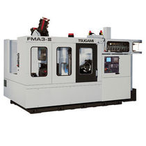 3-axis machining center / horizontal / high-precision / with integrated pallet changer