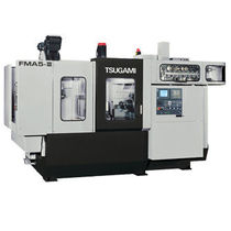 5-axis CNC machining center / horizontal / high-precision / with integrated pallet changer