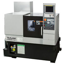 CNC automatic lathe / 2-axis / high-precision