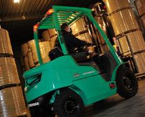 Ride-on forklift / combustion engine / diesel / handling