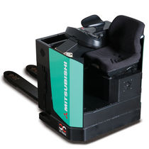 Electric pallet truck / side-facing seated / transport