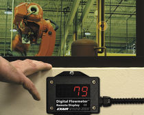 Air flow monitor / remote / with LED display