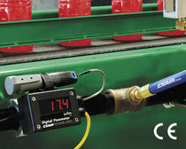 Gas flow transmitter / for liquids