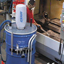 Lubricated vacuum system / industrial / full-face