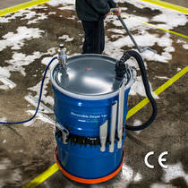 Drum vacuum cleaner / liquid / pneumatic / industrial