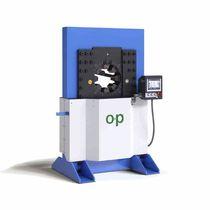 Hydraulic hose crimping machine / automatic / hydraulic