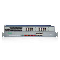 Managed ethernet switch / 26 ports / gigabit Ethernet / industrial