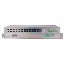 Managed ethernet switch / 24 ports / gigabit Ethernet / industrial