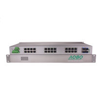 Managed ethernet switch / 32 ports / rackmount / industrial