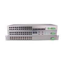 Managed network switch / 24 ports / fiber optic / gigabit Ethernet