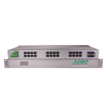 Managed ethernet switch / 32 ports / gigabit Ethernet / layer 3