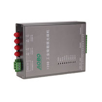 Fiber optic transceiver / data / DIN rail-mounted