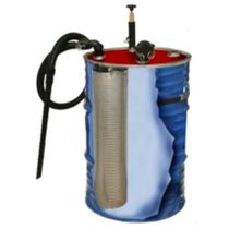 Oil and chip vacuum cleaner / compressed air / industrial / mobile