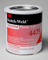 Acrylic adhesive / two-component / high-temperature / for plastics