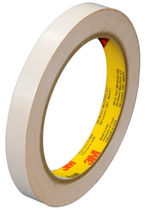 Double-sided adhesive tape / rubber / for logistics