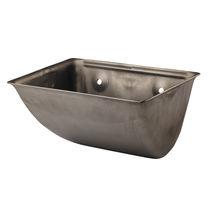 Steel elevator bucket