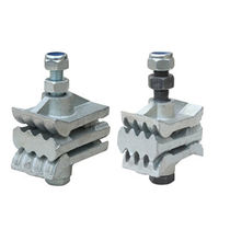 Bucket belt fastener / for elevator
