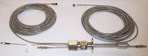 Fiber optic cable feedthrough / waterproof