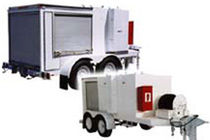 Mobile oil filter unit