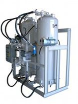 Activated carbon filtration unit / for oil