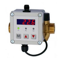 Ultrasonic flow meter / ultrasonic transit-time / for water / insertion
