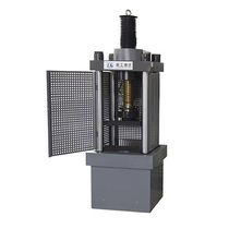 Compression testing machine / concrete / for building materials / for cement