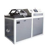 Bending testing machine / materials / for round bars