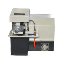 Metal cutting machine / sample / laboratory / metallographic