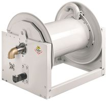 Hose reel / hydraulic motor / fixed / open