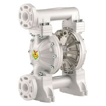 Diaphragm pump / water / for chemicals / slurry
