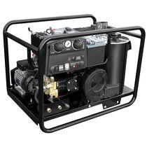 Hot water cleaner / diesel engine / stationary / high-pressure