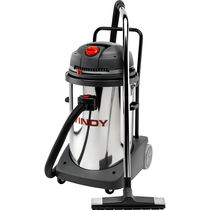 Wet and dry vacuum cleaner / electric / commercial / mobile