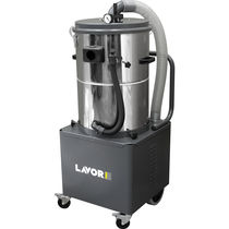 Industrial vacuum cleaner / dry / single-phase / mobile